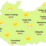 El tiempo en Ciudad Real: ¿hasta donde llegará el calor?
