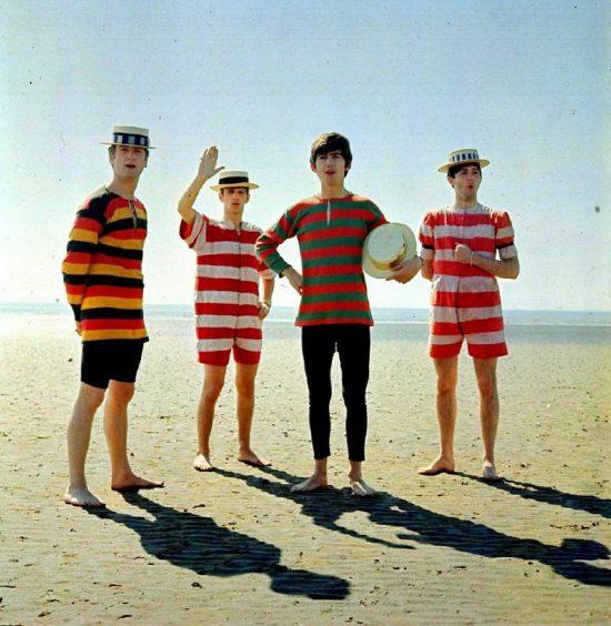 Los Beatles (1963). Fuente: Historygram