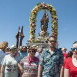Ciudad Real: La procesión de la Virgen pone fin a la Romería de Alarcos