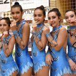 Dos jóvenes gimnastas rítmicas aldeanas se proclaman campeonas en Jaén con el Club Volaverunt de Miguelturra