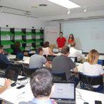 Cámara de Comercio y CEEI forman a profesionales en diseño web durante un taller de WordPress