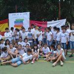 Los alumnos de los colegios Diego de Almagro y Miguel de Cervantes celebran el Día de Castilla-La Mancha