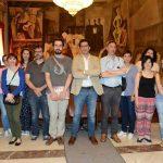 Caballero recibe a los alumnos de promoción turística del Impefe de Ciudad Real
