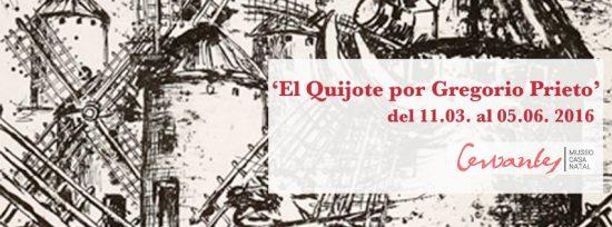 El Quijote, por Gregorio Prieto