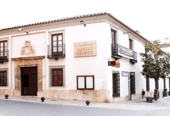 Fachada de la Fundación G. Prieto en Valdepeñas