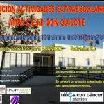Exhibición de actividades extraescolares del CEIP Don Quijote a beneficio de AFANION
