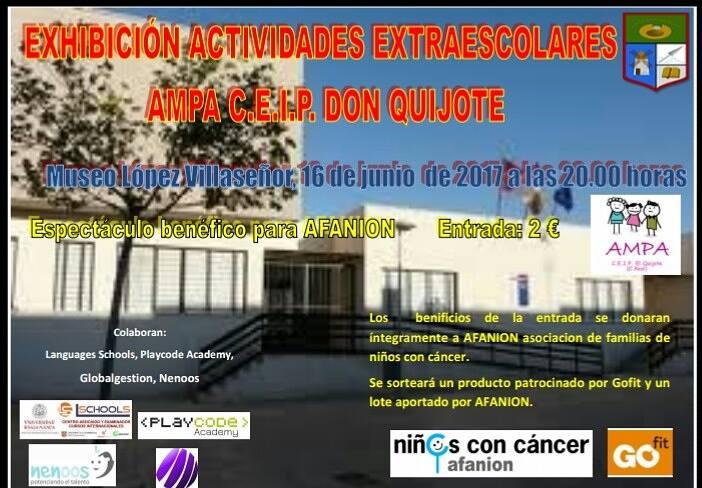extraescolares ceip don quijote