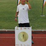 Dos medallas para Lidia Llorente, del Paralímpico Puertollano, en elCampeonato de España de Atletismo Adaptado IPC 2017