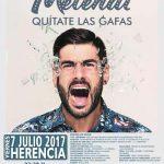 Aún puedes adquirir tu entrada para disfrutar del concierto de Melendi en Herencia