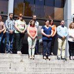 Puertollano: Concentración de la Corporación Municipal frente al terrorismo en Londres
