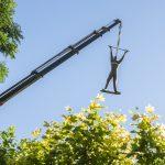 Ciudad Real: Retirado a un almacén el monumento al alférez provisional de la Plaza de España