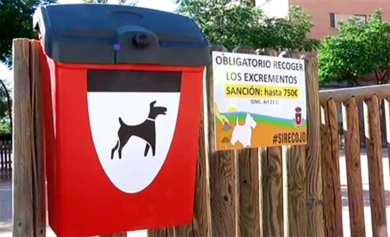 Papeleras herméticas para deposiciones caninas