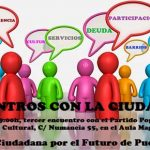 La Plataforma por el Futuro de Puertollano organiza este viernes un encuentro ciudadano con el PP