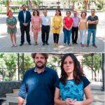 """El PP critica que PSOE y Ganemos se retraten en los Jardines del Prado, contra cuya remodelación """"recogieron firmas"""""""