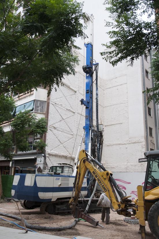 Ciudad real pilotes de hormig n para reforzar el terreno for Hormigon impreso jerez