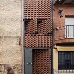 Una casa en Piedrabuena diseñada por el ciudadrealeño Moisés Royo, entre las mejores obras del mundo 2017 construidas en ladrillo