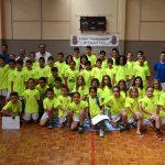 Clausurados los Campus de Verano de Balonmano y Baloncesto