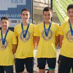 Bronce en relevos en los Campeonatos de España Alevín para Natación Alarcos