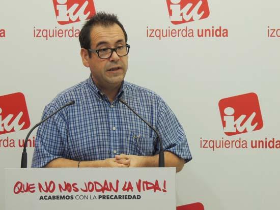 Crespo (IU) arremete contra la Dirección federal de Podemos por su «desidia» a la hora de crear una gestora en C-LM