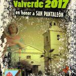 Valverde: Programa de las Fiestas en honor a San Pantaleón 2017