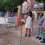 Ciudad Real:Pilar Zamora conoce la evolución de las obras de la Plaza de Cervantes