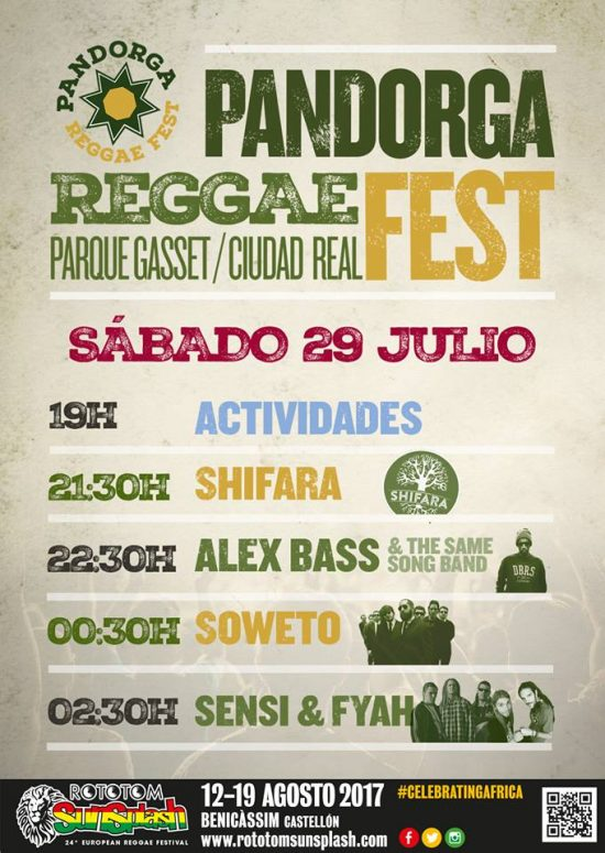 pandorga reggae sabado