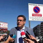 """Rodríguez (PP): """"Lo ocurrido con el aparcamiento del Quijote Azteca es un ejemplo de antigestión en movilidad"""""""