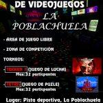 La Poblachuela celebra el 5 de agosto su primer Maratón de videojuegos