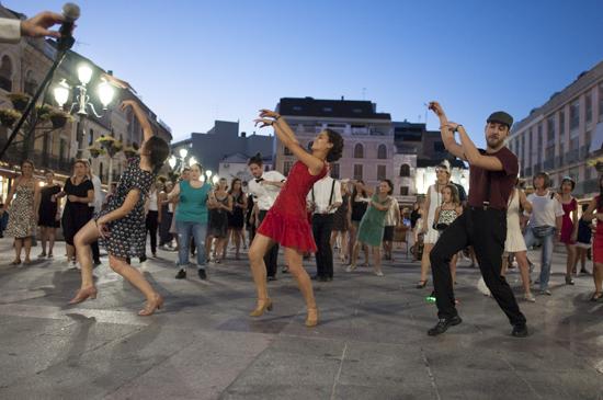 swing en la Plaza Mayor 2
