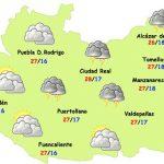 Seguirán las tormentas este viernes en Ciudad Real