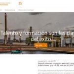 Repsol renueva su página web del complejo industrial de Puertollano, que recibe más de 85.000 visitas al año