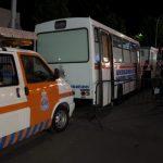 El sábado de Feria concluye con tres traslados al Hospital
