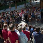 Ciudad Real guarda un minuto de silencio en memoria de los fallecidos en los atentados de Cataluña
