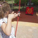 Una kermés y una actividad de atletismo ponen fin a la programación infantil de la Feria