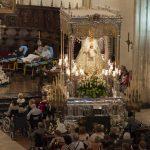 La Virgen del Prado recibe en la Catedral a los enfermos de la Caravana Blanca