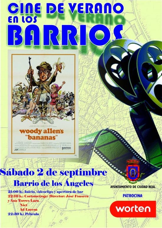 Cartel 2 de septiembre Barrio de los Angeles