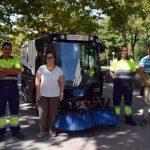 El Ayuntamiento de Ciudad Real presenta una nueva máquina barredora del servicio de Limpieza adquirida por 120.000 euros