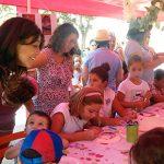 """Pilar Zamora: """"La actividad con los niños siempre es muy enriquecedora; es una feria para ellos"""""""