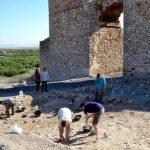 En marcha la 31 campaña de excavaciones arqueológicas de Calatrava La Vieja en Carrión de Calatrava