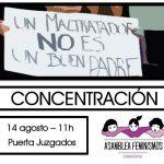 Feminismos Ciudad Real convoca una concentración frente a los Juzgados en apoyo a Juana Rivas