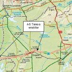 Fomento licita un contrato de obra para la rehabilitación del firme de la autovía A-5