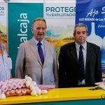 Renovado el convenio de la Fundación Globalcaja Cuenca y la Cooperativa San Isidro el Santo para promocionar el ajo morado de Las Pedroñeras