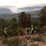 El INFOCAM continúa con el plan de operaciones para dar por controlado el incendio de Yeste