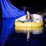 """Corral de Calatrava disfruta con el espectáculo acuático-musical """"La Sirenita y un príncipe de cuento"""""""