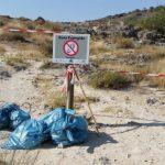 Vecinos de Ruidera limpian la laguna de la Lengua