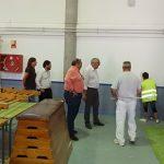 Manzanares: Julián Nieva visita las mejoras que se realizan en los centros educativos