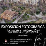 """Ventura Huertas Serrano comparte por primera vez en Puertollano sus """"miradas diferentes"""""""