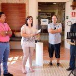 La obra del poeta y escultor Jaime Aumente se expone en Villarrubia de los Ojos hasta el 28 de agosto