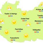 """El tiempo en Ciudad Real: dos días más de """"calor"""""""
