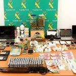 La Guardia Civil desarticula una red organizada dedicada al tráfico de drogas enTomelloso, Socuéllamos y Pedro Muñoz
